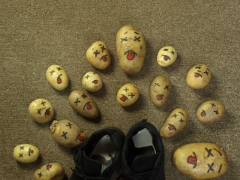 Fainting potatoes image