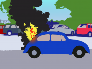 carpark+caronfire04