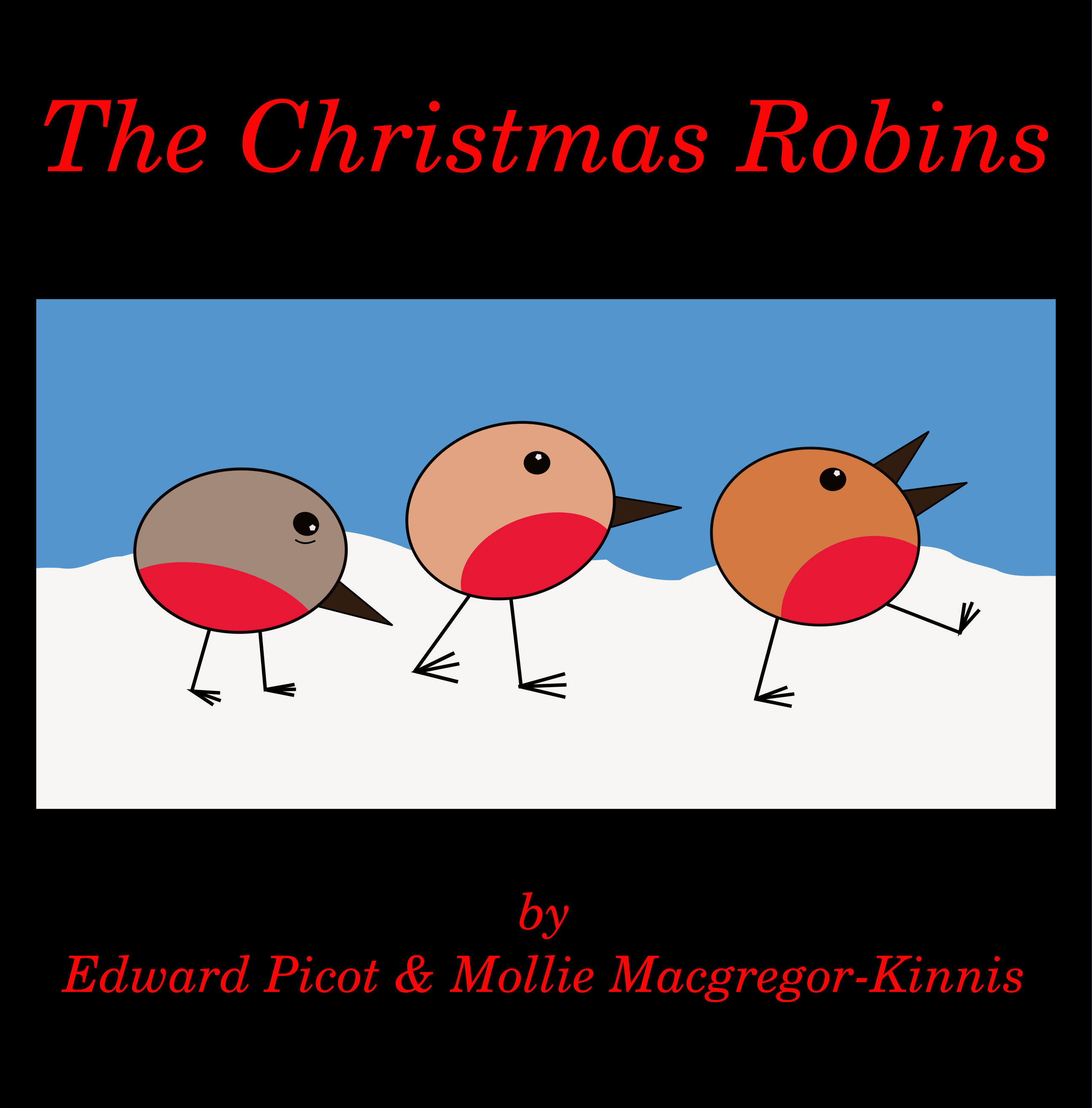 The Christmas Robins front cover image